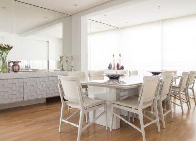 Como usar espelhos na decoração de um apartamento compacto