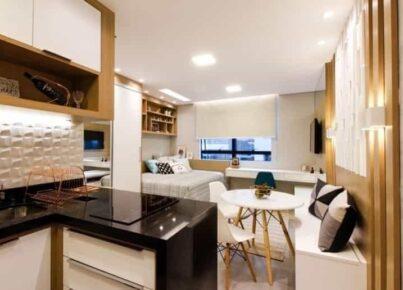 5 motivos para morar em um apartamento compacto
