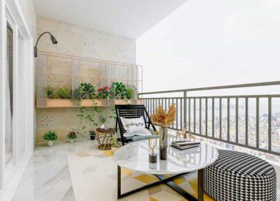 Varanda multi-uso – Diferentes uso para a varanda